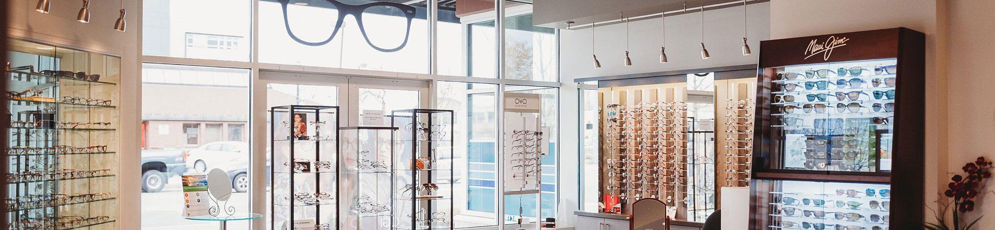 Interior of Northwest Eye Care